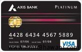 Axis Bank's Platinum Credit Card