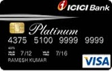 ICICI Bank Insta Platinum 			Credit Card