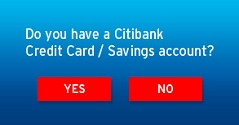 Do you have Citibank Credit Card