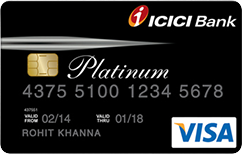 ICICI Platinum Chip Credit Card