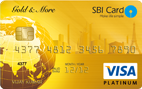 SBI Gold & More Credit Card